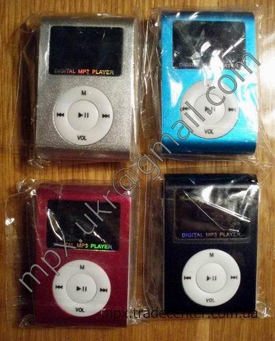 Цветовые оттенки MP3 плеера.