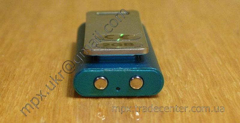 MP3 плеер, вид снизу.