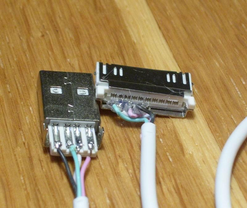 USB кабель для копии ipod nano