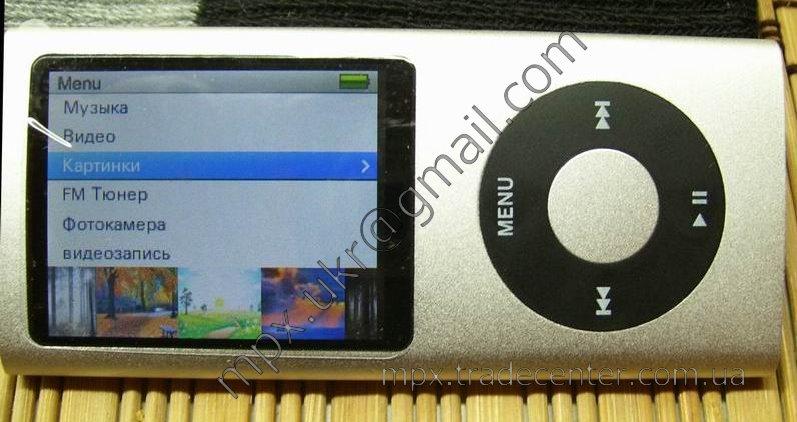G-сенсор в копии ipod nano 5g.