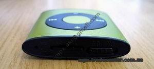 Китайский ipod shuffle 4g, вид сверху.