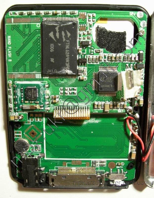 Определяем тип процессора в MP4 плеере.