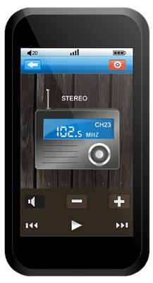 FM-радио в Onda VX777LE