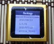 Версия прошивки оранжевого китайского ipod nano 6g.