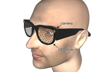 Принцип работы очков для людей с плохим зрением от ученых из Оксфордского университета