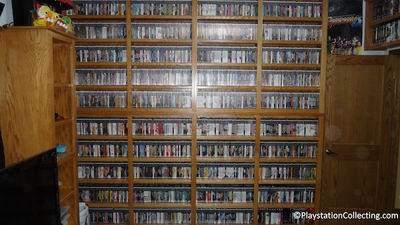 Единственная полная коллекция игр для Playstation2 в мире