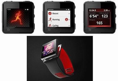Спортивно-музыкальные нано-часы от Motorola