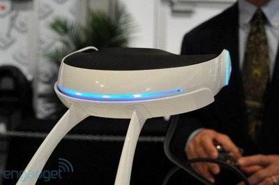 Новый стереоскопический 3D шлем от Sony