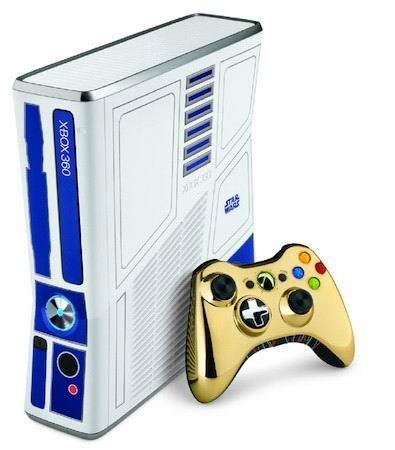 Лимитированный выпуск Xbox 360 в стиле Star Wars