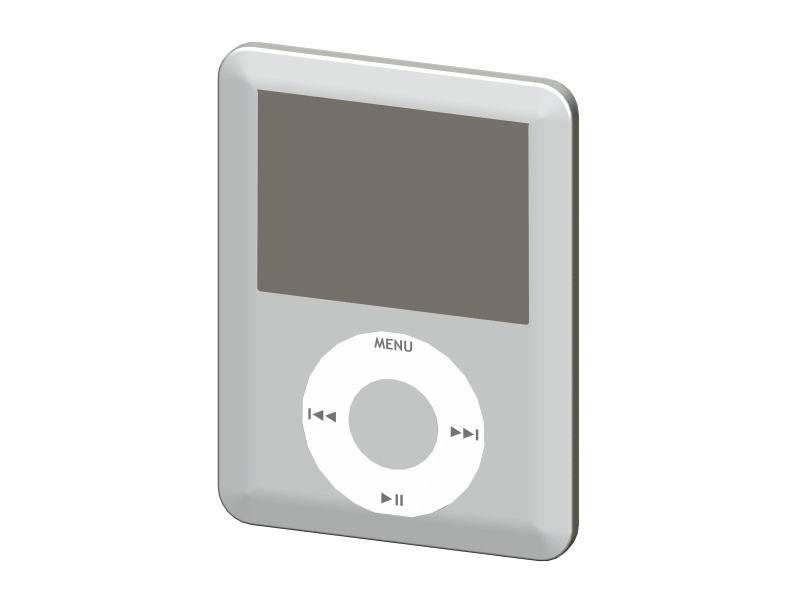 iPod Nano 3th Generation.