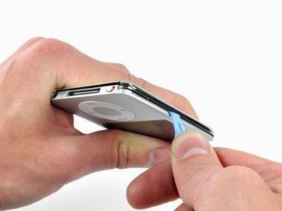 На предпоследнем шаге открытия плеера ipod nano 3g.