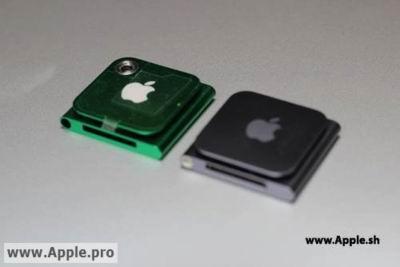 Новый iPod nano будет обладать камерой