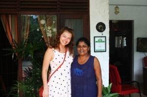 Ранни - мой первый кулинарный учитель на Шри-Ланке.