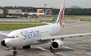 Аэропорт Коломбо. Ланкийские авиалинии.