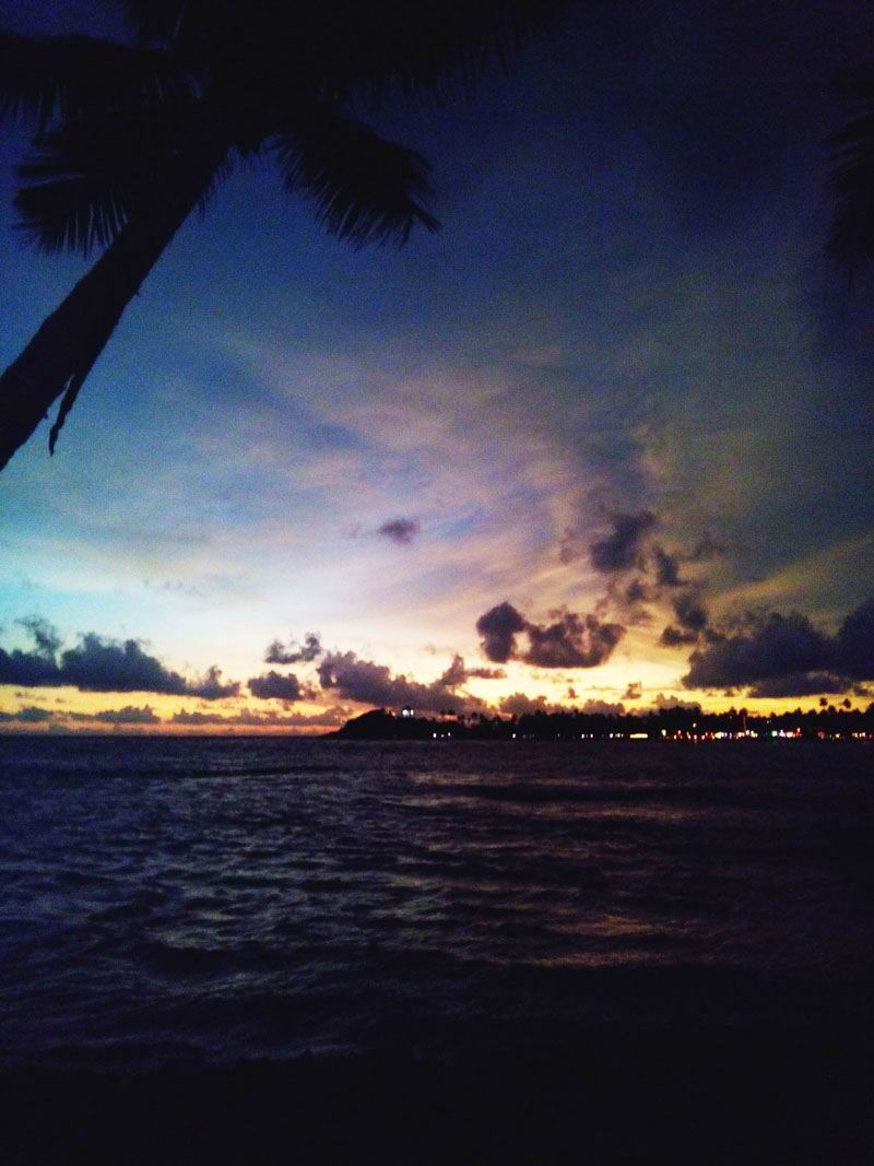 Лучшие курорты Шри-Ланки. Закат в Унаватуне.