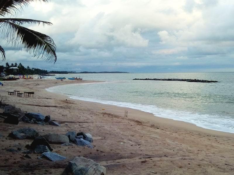Пляж Тангалле - место для уединения.