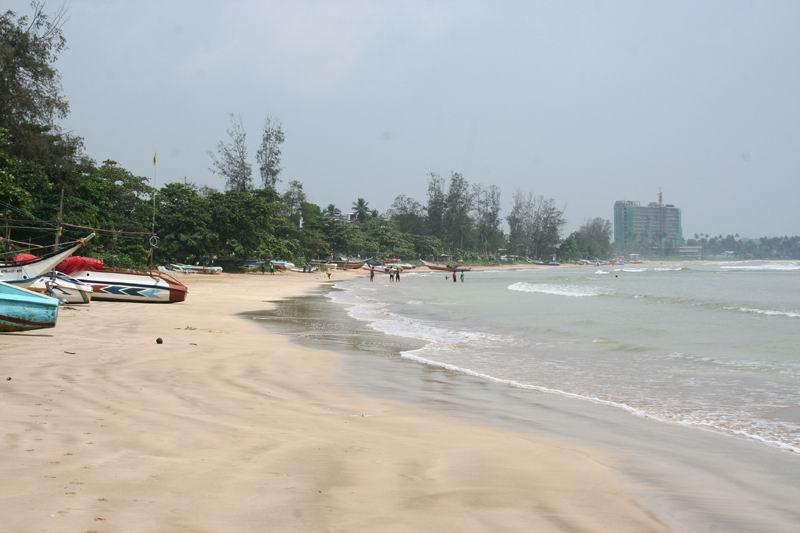 Пляж Велигамы, во всей его красе.
