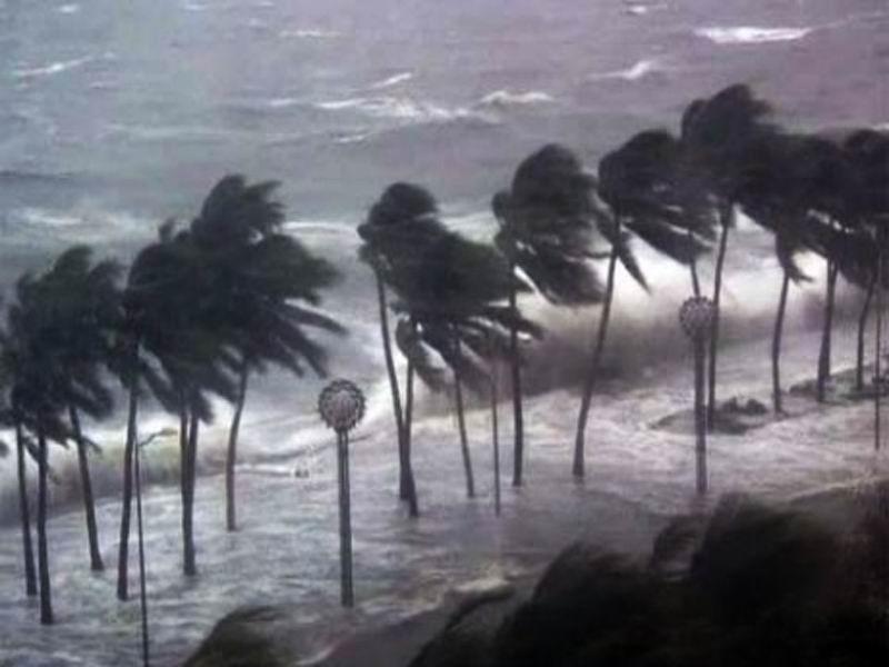 Тайфун в Филиппинах.