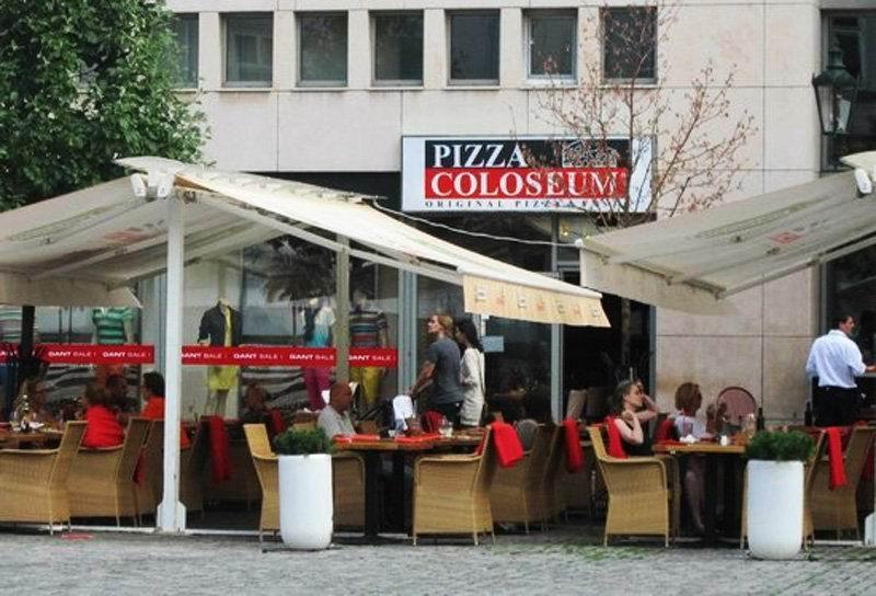"""Сеть пиццерий """"Колизей""""."""