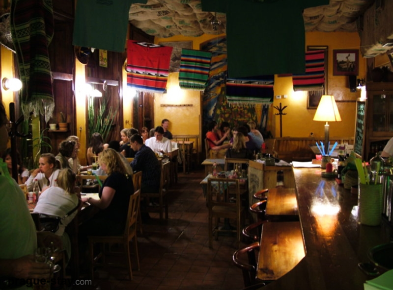 Мексиканский ресторан, Прага.
