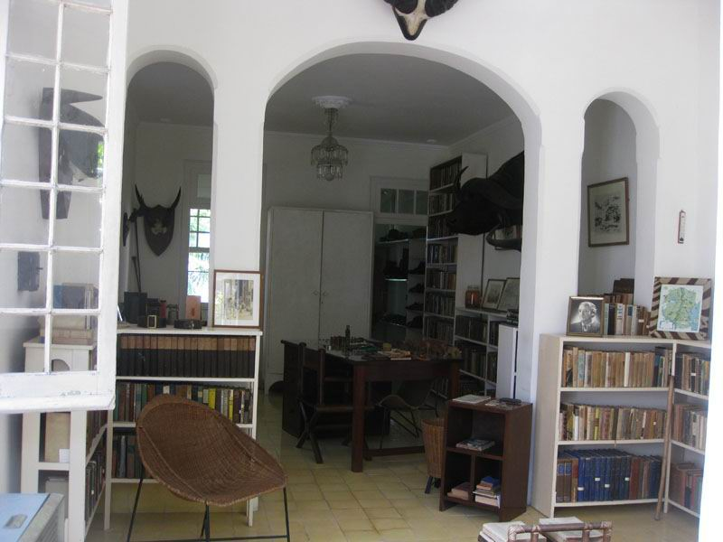 Дом Хемингуэя, Куба.