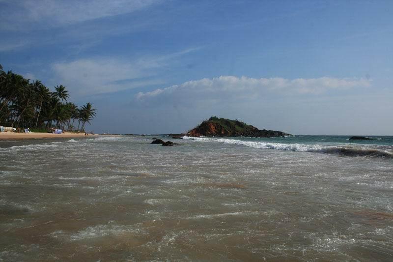 Шри-Ланка пляж Мирисса.