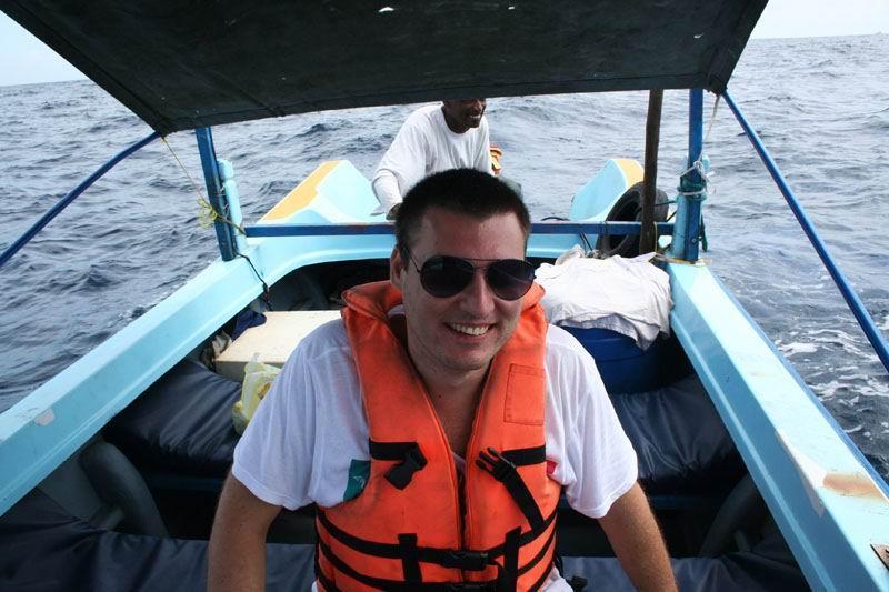 Наша небольшая лодка.