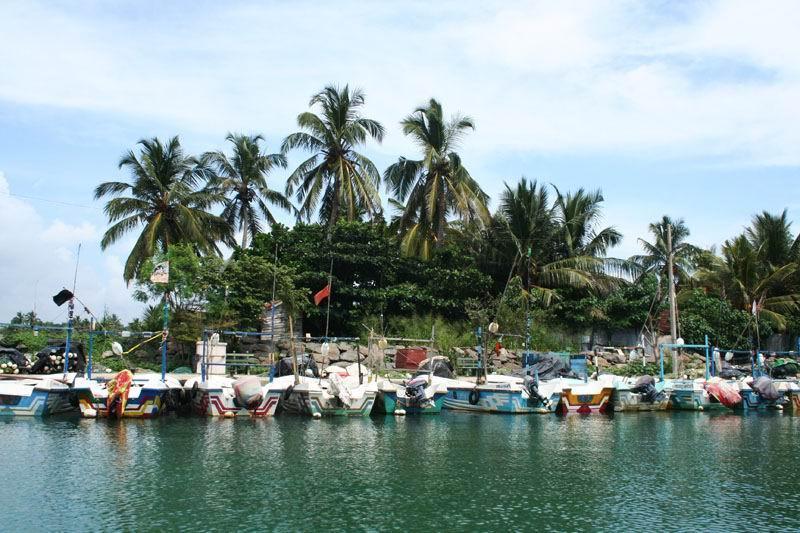 Гавань. Мирисса, Шри-Ланка.