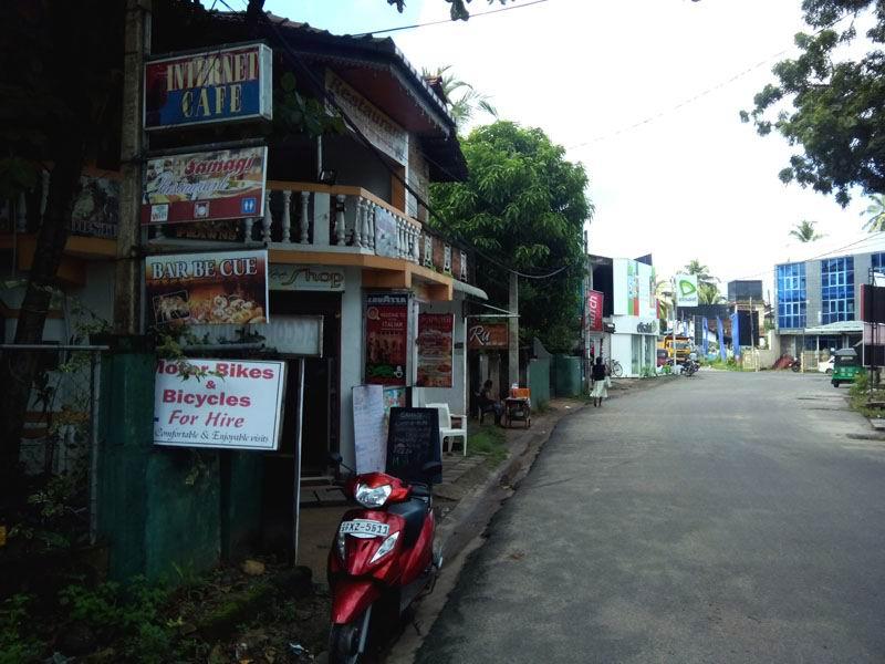 Улица в Тангалле.