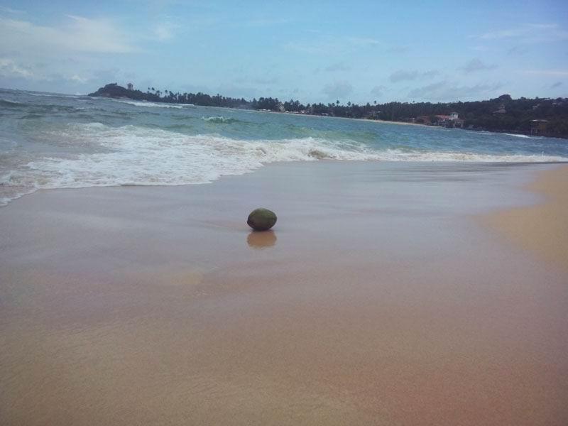 Пляж Унаватуна.