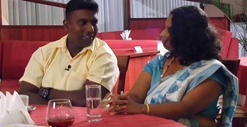 Семья из Шри-Ланки.