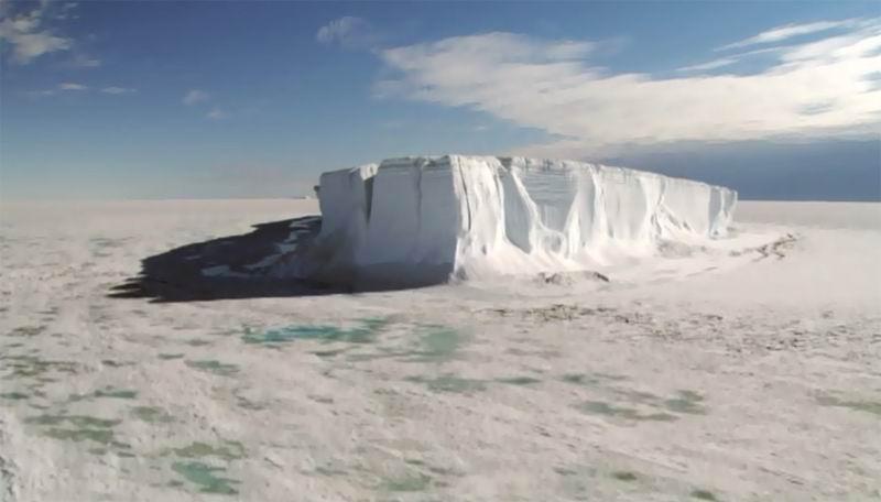 Ледники в движении.