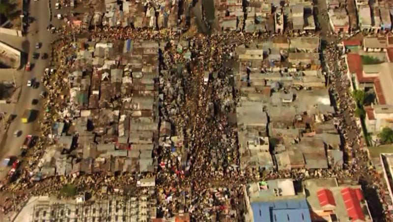 Жизнь в Гаити похожа на муравейник.