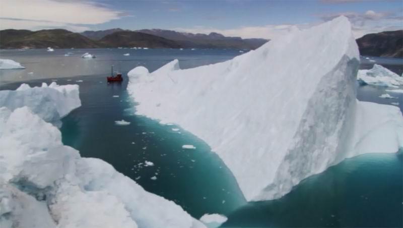 Гренландия. Айсберги.